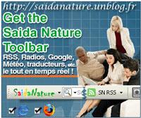 Télécharger la Barre d'outils Saida Nature Gratuitement!
